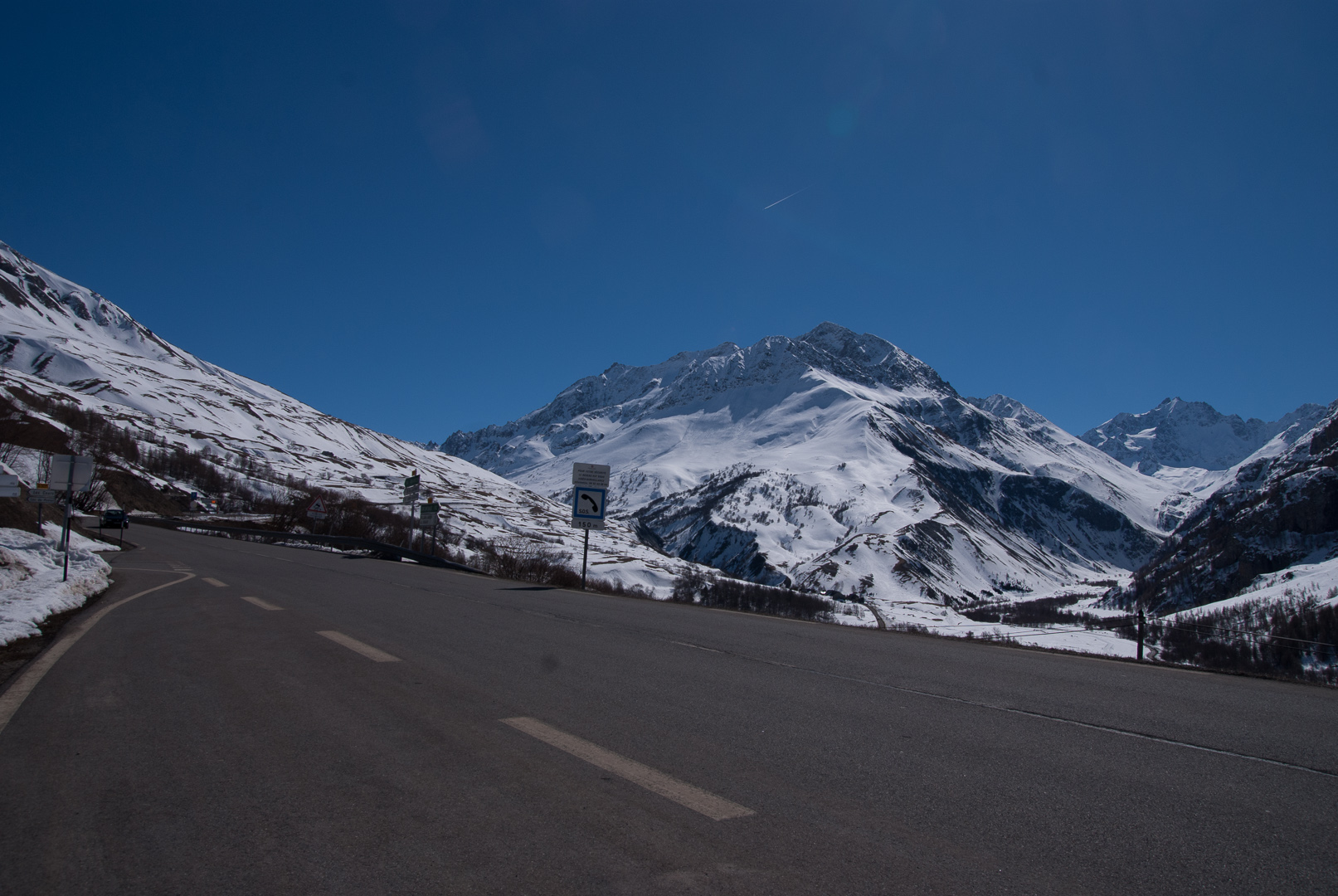 Альпы по дороге во Францию
